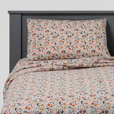 In the Garden Flannel Sheet Set - Pillowfort™