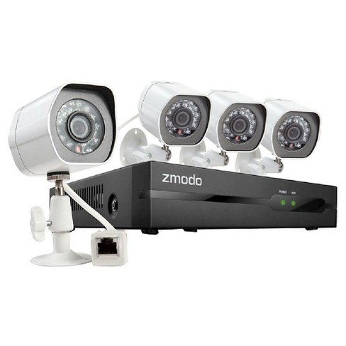 Zmodo 720P Simplified POE NVR System with 2TB Hard Drive - White (4090312) - image 1 of 1