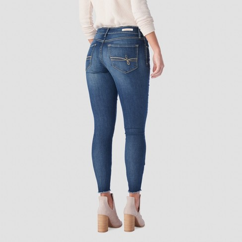 af4446afe7 DENIZEN® from Levi s® Women s High-Rise Seamed Ankle Jeggings - (Juniors )  Medium Wash