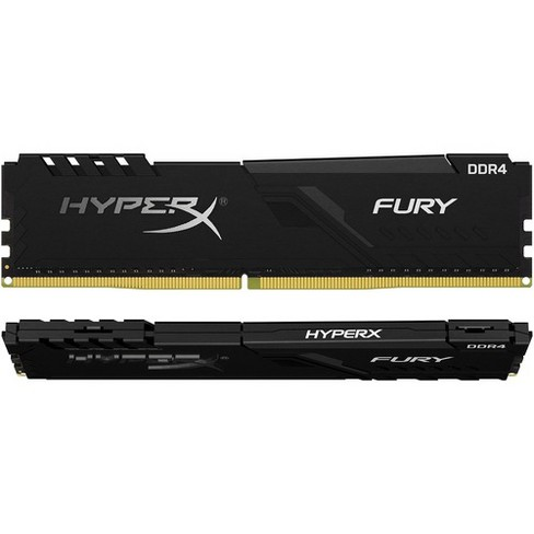 Kingston Fury 32GB DDR4 SDRAM Memory Module - 32 GB (2 x 16 GB) - DDR4-2666/PC4-21333 DDR4 SDRAM - CL16 - 1.20 V - Non-ECC - Unbuffered - 288-pin - image 1 of 4