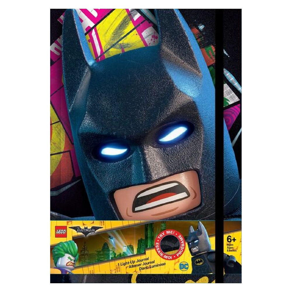 Lego Batman Movie Light Up Journal, Multi-Colored