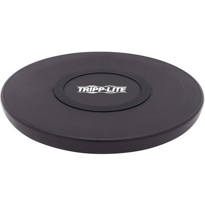 Tripp Lite Wireless Phone Charger - 10W, Qi Certified, Apple and Samsung Compatible, Black - 5 V DC Input - 5 V DC, 9 V DC Output