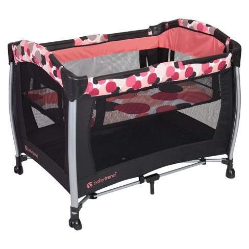 Baby Trend Resort Se Nursery Center Playard Dotty Target