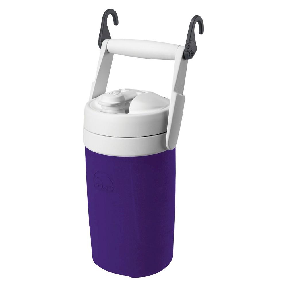 Igloo Sport 1/2 Gallon Cooler with Hooks - Purple