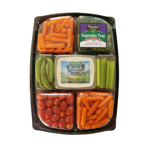 Vegetable Tray with Ranch Dip - 40oz - image 1 of 1