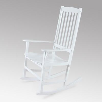 Beau Alston Wood Porch Rocking Chair   Cambridge Casual : Target