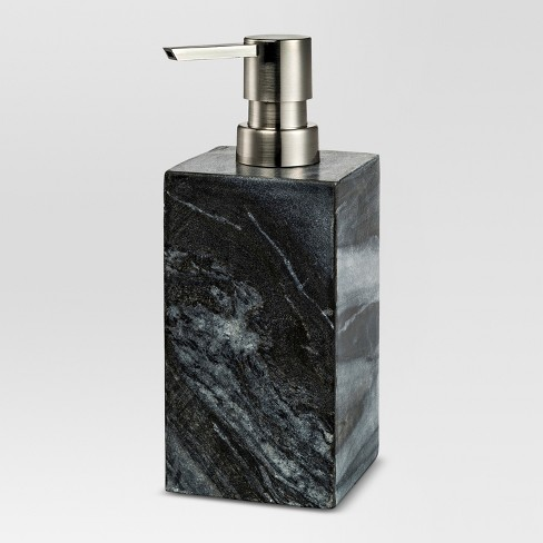 Marble Soap Pump Black - Threshold™ - image 1 of 1