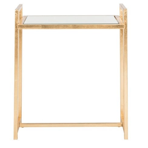 Renly End Table - Gold / Mirror - Safavieh® - image 1 of 3