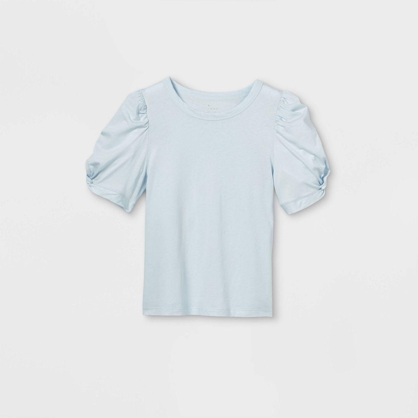 Women's Puff Short Sleeve Round Neck T-Shirt - A New Day™ - image 1 of 7