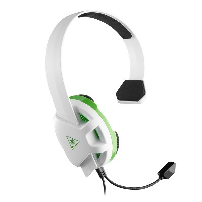 Turtle Beach Recon Chat Gaming Headset for Xbox One/Series X/S - White/Green