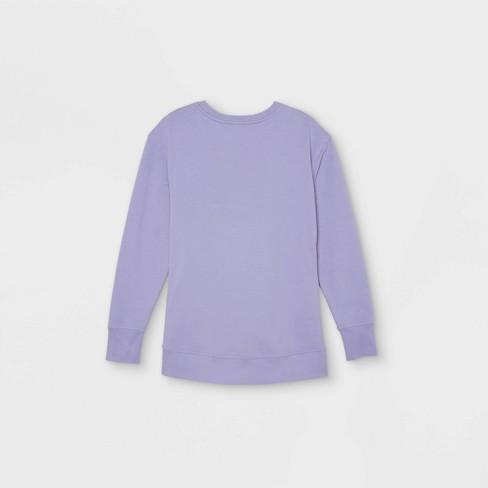 Match Back Maternity Sweatshirt - Isabel Maternity by Ingrid & Isabel™ - image 1 of 2