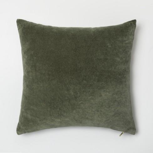 Velvet Exposed Zipper Throw Pillow - Project 62™ - image 1 of 2
