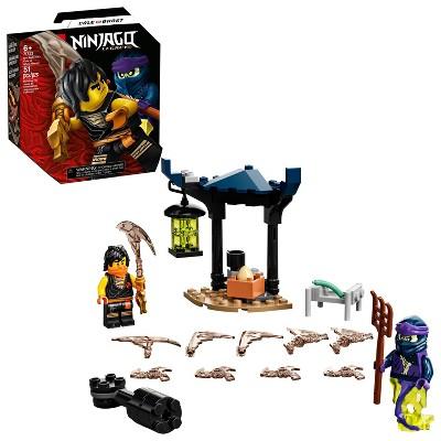 LEGO NINJAGO Epic Battle Set – Cole vs. Ghost Warrior Ninja Battle Toy Featuring Minifigures 71733