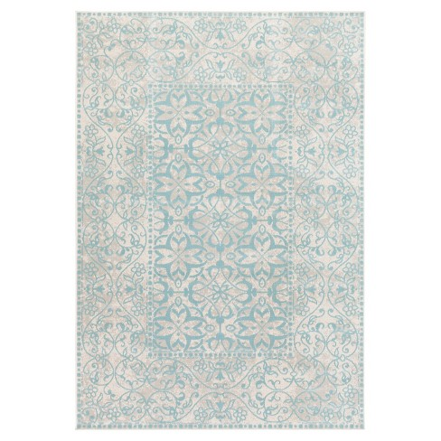 "Surya Zait Area Rug - Teal (6'9"" x 9'8"") - image 1 of 2"