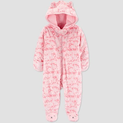 Baby Girls' Pram Cat Overcoat - Just One You® made by carter's Pink 3M