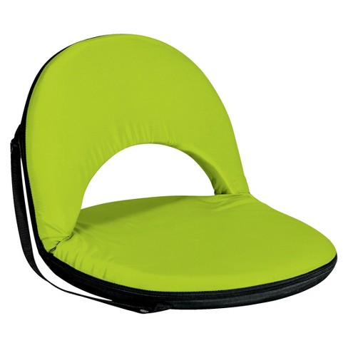 Picnic Time Metro Portable Reclining Seat - Lime - image 1 of 5