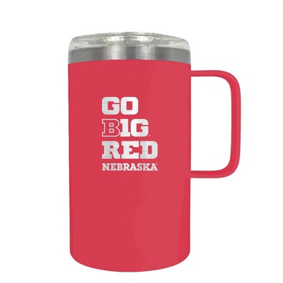 NCAA Nebraska Cornhuskers 18oz Hustle Travel Mug