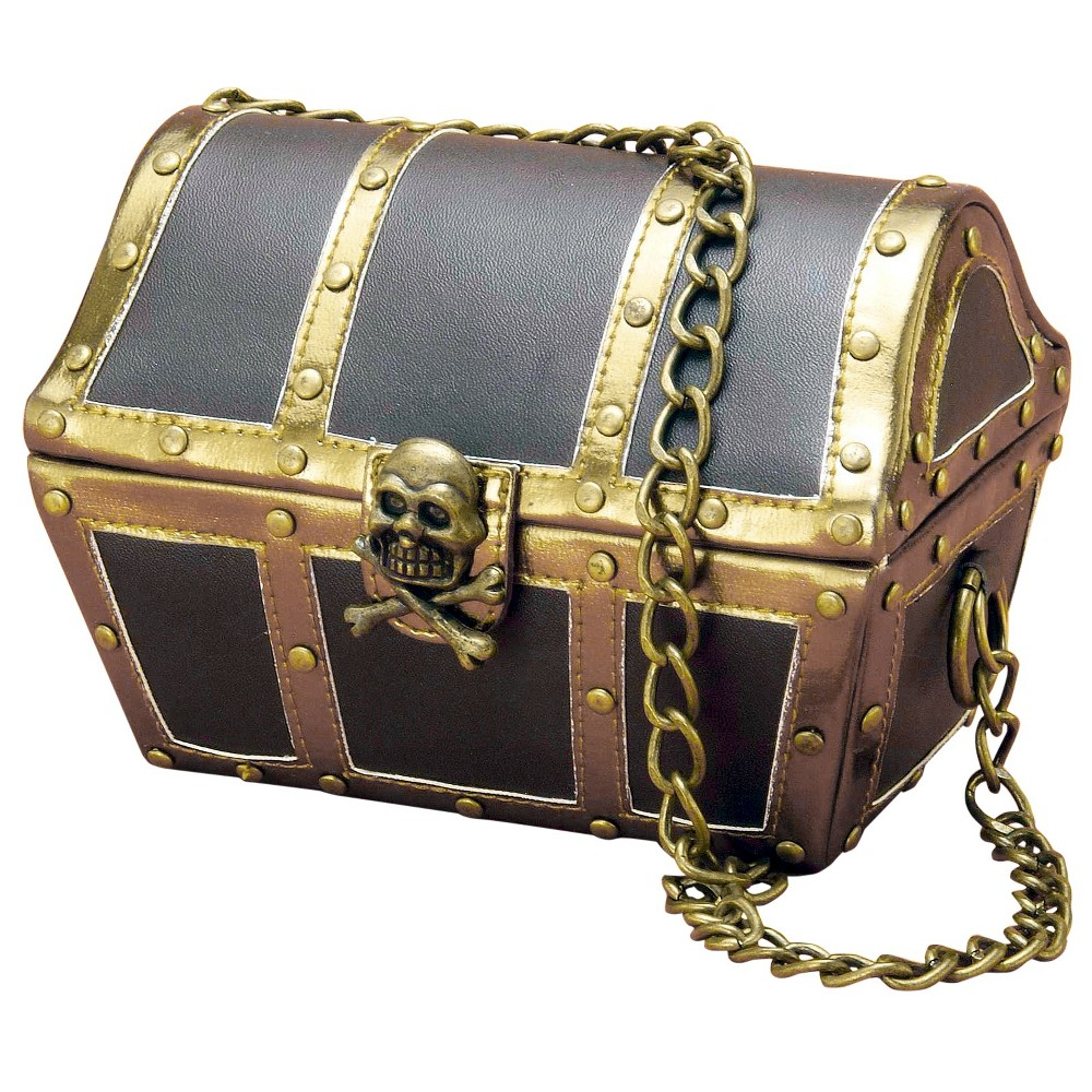Low Price Halloween Adult Pirate Purse Brown One Size Women