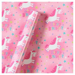Roll Wrap Unicorns Birthday - Spritz™