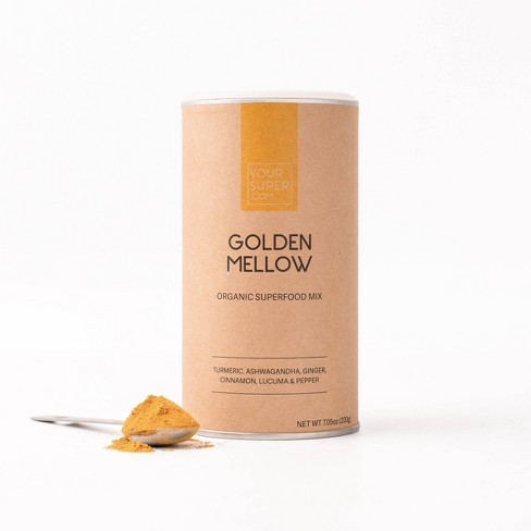 Your Super Golden Mellow Mix Superfood Powder - 7.05oz - image 1 of 4
