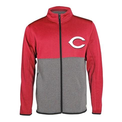 MLB Cincinnati Reds Men's Bases Loaded Track Jacket - image 1 of 1