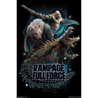 """22.375"""" x 34"""" Rampage - Full Force Unframed Wall Poster Print - Trends International"""