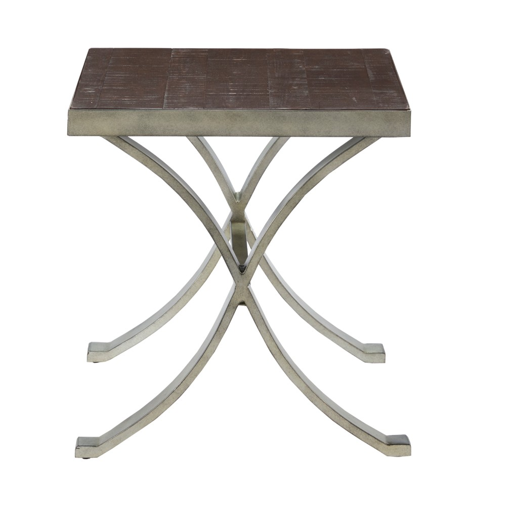 Pickett End Table Gray, Accent Tables