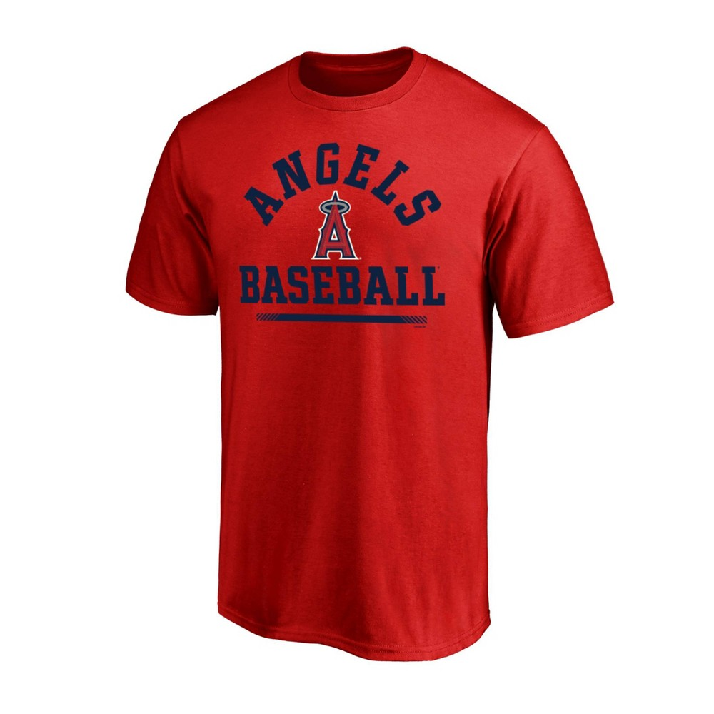 Los Angeles Angels Men's Rise to Victory T-Shirt - XL, Multicolored