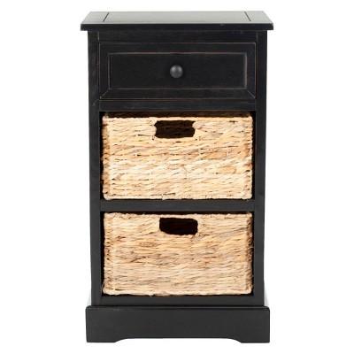 Storage Cabinet - Black - Safavieh