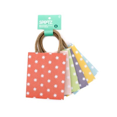 6pk Recycled Treat Gift Bags - Spritz™