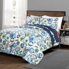 3pc Full/Queen Race Car Bedding Set Navy - Lush Decor - image 2 of 4