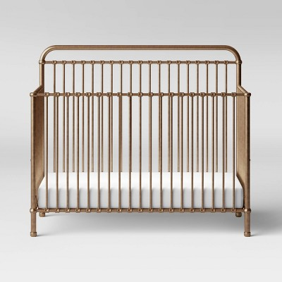 Million Dollar Baby Classic Winston 4-In-1 Convertible Crib - Vintage Gold