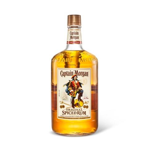 Captain Morgan Spiced Rum - 1.75L
