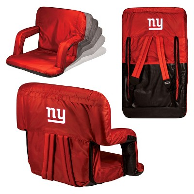 NFL Ventura Seat Portable Recliner Chair -Red by Picnic Time