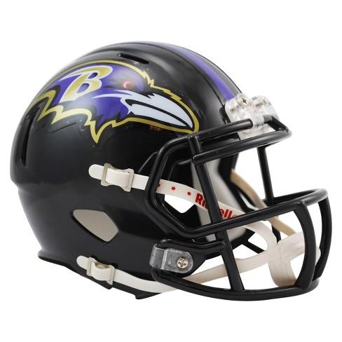 4e4780f98 Baltimore Ravens Riddell Speed Mini Helmet - Black   Target