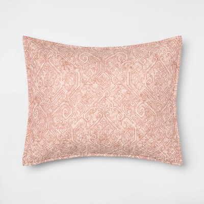 Family Friendly Medallion Pillow Sham - Threshold™