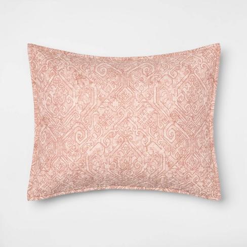 Family Friendly Medallion Pillow Sham - Threshold™ - image 1 of 3