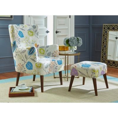 Jane Chair And Ottoman   Angelo:HOME