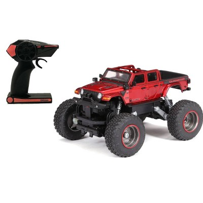 "New Bright R/C 4x4 Heavy Metal Jeep Gladiator 1:20 Scale  7"")"