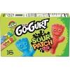 Yoplait Go-Gurt Kids' Yogurt Sour Patch Kids Yogurt Tubes - 16pk/2oz Tubes - image 3 of 4