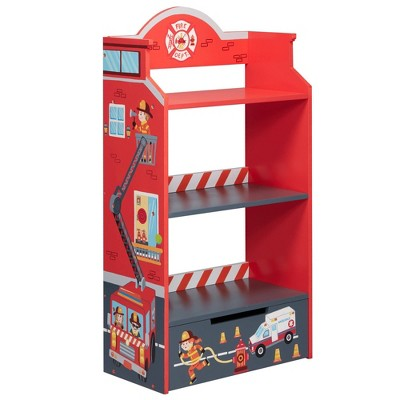 Little Firefighter Fantasy Fields Bookshelf - Teamson Kids