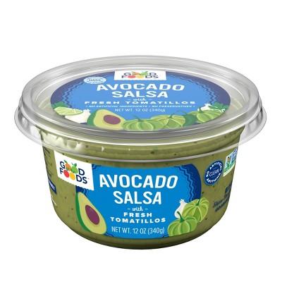 Good Foods Tomatillo Avocado Salsa - 12oz