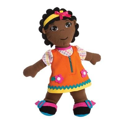 "Miniland Fastening Learn To Dress 15"" Doll - Female"