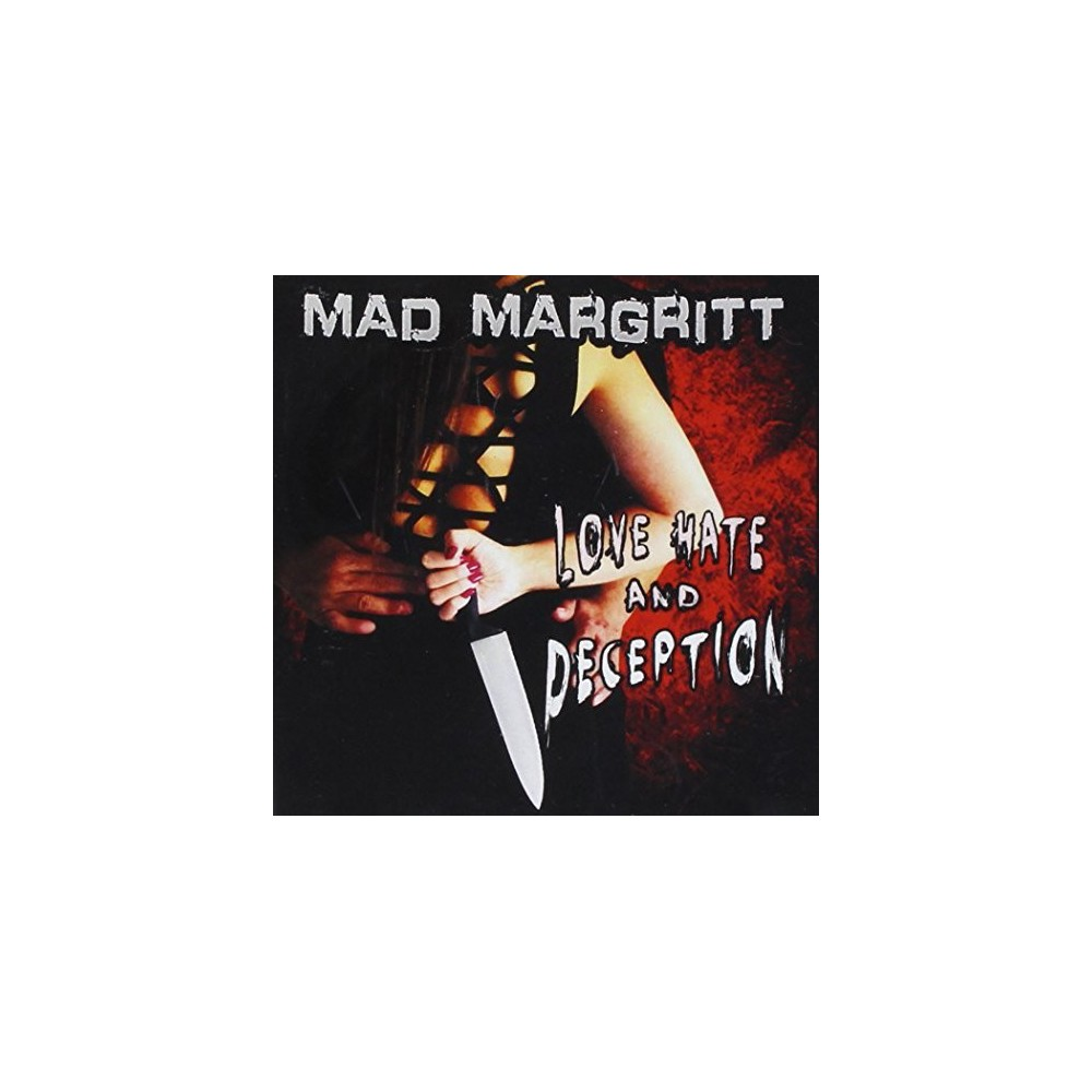 Mad Margritt - Love Hate And Deception (CD)