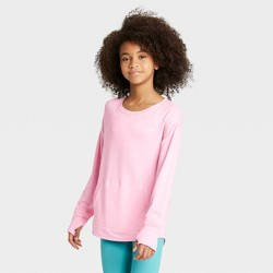 Girls' Soft French Terry Crew Sweatshirt - All in Motion™