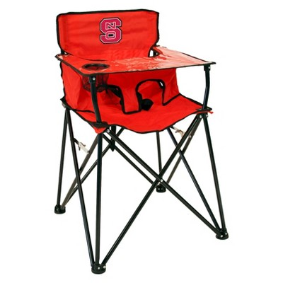 NCAA NC State Wolfpack Portable High Chair in Red