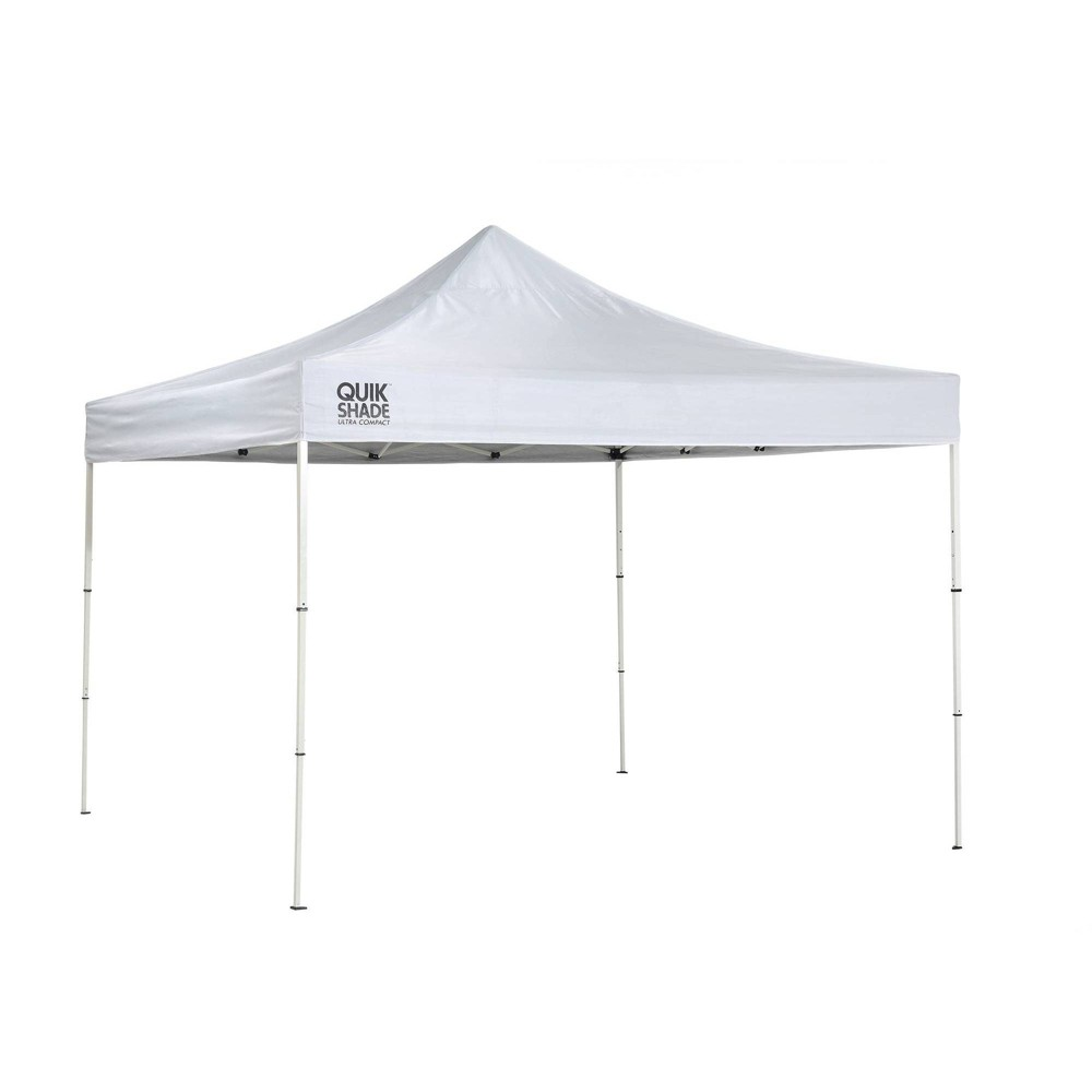 Image of Quik Shade Marketplace MP100 Compact 10x10 Straight Leg Canopy - White