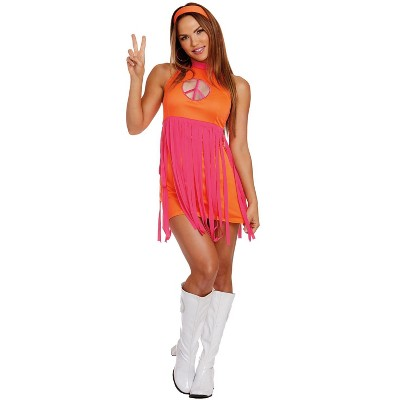 Dreamgirl 60s Groovy Baby Adult Costume
