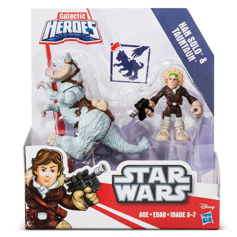 Playskool Heroes Star Wars Galactic Heroes Tauntaun and Han Solo
