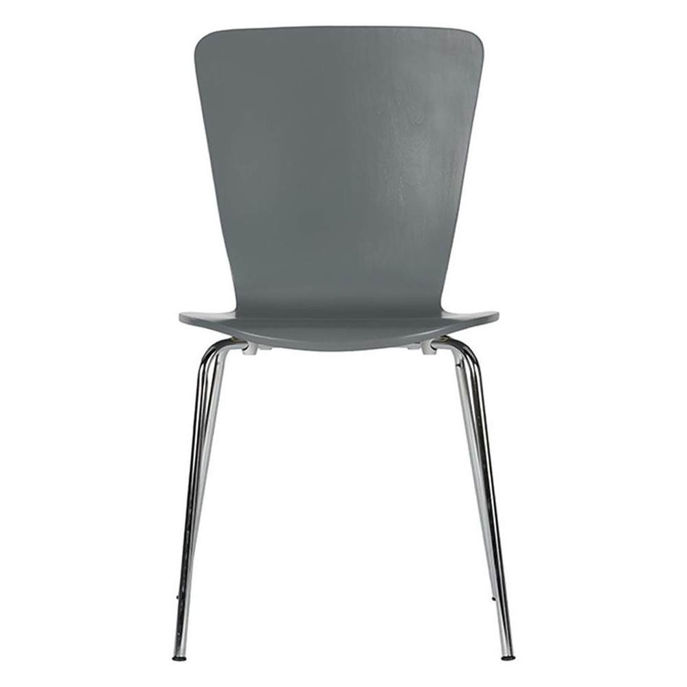Bentwood Dining Chairs (Set of 2) - Gray - Dorel Home Products